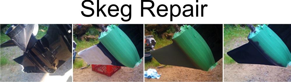 skeg repair